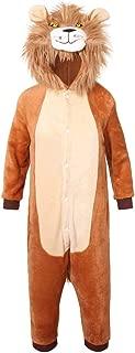 youlsun Kids Animal Halloween Costume, Deluxe Kids Onesie Pajamas for Boys&Girls