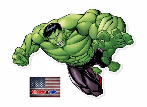 Fan Pack - Hulk Smash Wall Art 3D Effect Official Cardboard Pop out - Includes 8x10 Star Photo