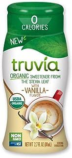 Truvia Organic Zero Calorie Liquid Stevia Sweetener, Vanilla, 2.7 Fl Oz
