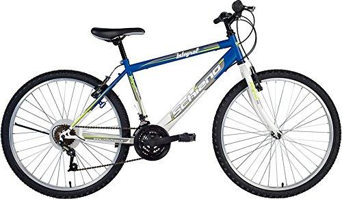 F.lli Schiano Integral Cambio Power 18V Bicicletta, Blu/Bianco, 26