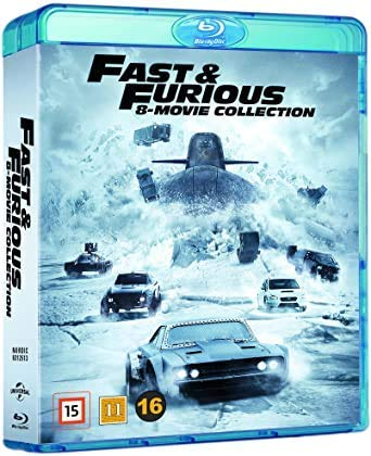 Fast & Furious Collection - 8-Disc Boxset ( The Fast and the Furious / 2 Fast 2 Furious / The Fast and the Furious: Tokyo Drift