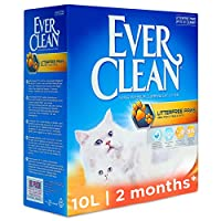 LITTERFREE PAWS CAT LITTER promises up to 3x cleaner paws✧. (✧Vs Ever Clean Total Cover) and reduced trailing means that the litter stays in the tray IDEAL formulA for kittens and cats: Larger granules won't get stuck to paws or fur making it ideal f...