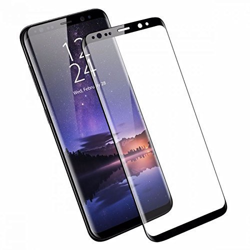 XenderCage 2.5/3D HD 360° Full Screen Coverage Curved Scratch Guard PET Film for Samsung Galaxy S9 Plus - Black