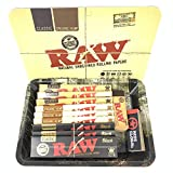 Reds Exclusive Tips RAW Mini Tray Set with Magnetic Cover (Smokey Forest)