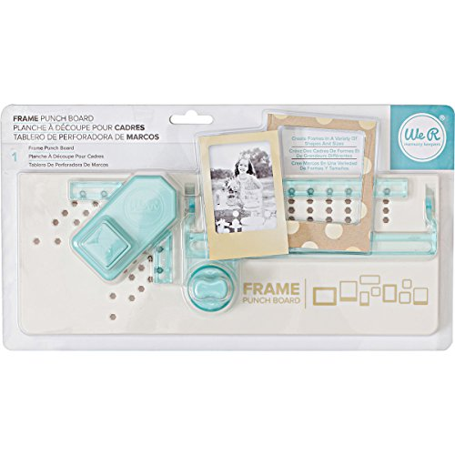 We R Memory Keepers Frame Punch Board-