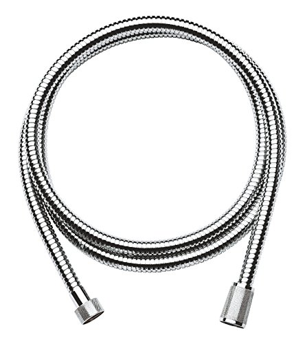 Grohe Relexaflex Metal Longlife - Flexo metálico de 2,00 m, color cromo...