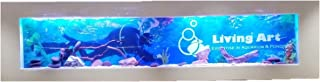 Living Art Pet Supplies Acrylic Wall Mounted Aquarium (LAA_004_6_Multicolor_6 Feet)