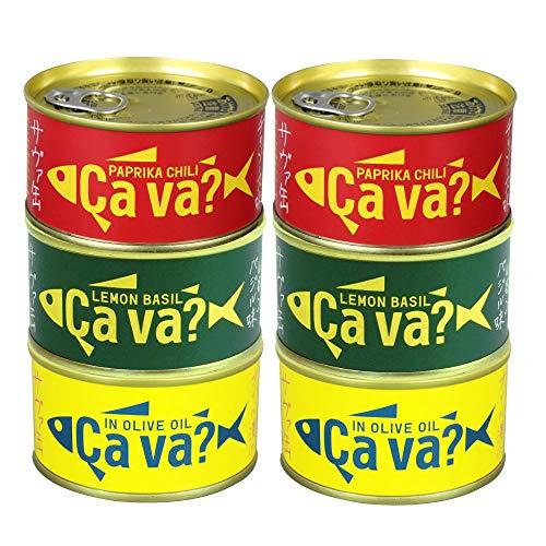 [12缶] 国産さばアソートセット (オリーブオイル、レモンバジル、パプリカチリソース 各4缶) ギフト箱入 お手軽レシピ付き