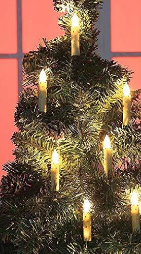 Gravidus 10-delige set draadloze LED kerstboomkaarsen