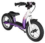 Rad BIKESTAR Kinder Laufrad Lauflernrad Kinderrad für Mädchen ab 3 - 4 Jahre ★ 12 Zoll Classic Kinderlaufrad ★ Berry & Weiß für Kinder bei Amazon