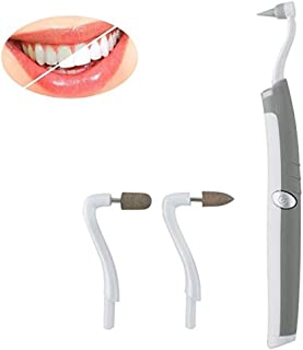Pevor Multifunction Tooth Stain Eraser Plaque Remover Dental Tool Kit Oral Hygiene Care Tools with LED Light