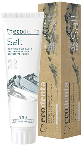 ecodenta Organic Sensitive Teeth & Gums Salt Zahnpasta 100 ml