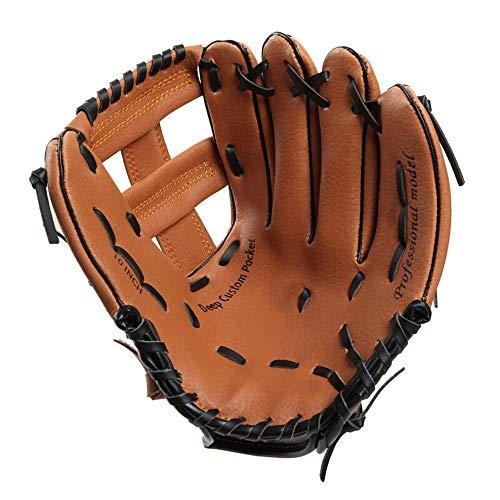 TONG Baseballhandschuh Leichte Baseball-Handschuhe Rechts/Links-Hand Werfen Kinder Jugend Softball-Krug Handschuhe 10/11 Zoll PU-Leder for Ausbildung ZHANGKANG
