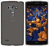 mumbi Funda Compatible con LG G4s Caja del teléfono móvil, Negro Transparente