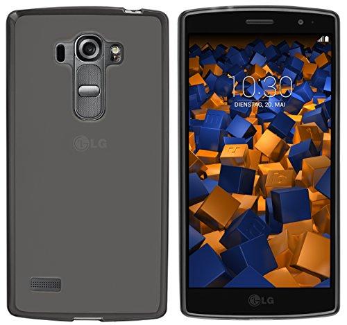 mumbi Hülle kompatibel mit LG G4s Handy Case Handyhülle, transparent schwarz