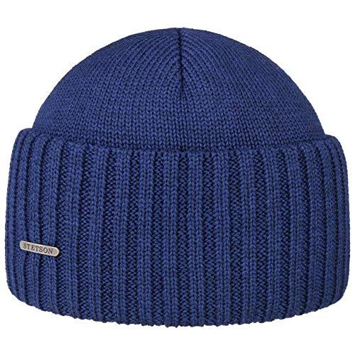 Stetson Northport - Berretto invernale in lana merino, made in Italy, berretto da marinaio per donna/uomo, autunno/inverno -