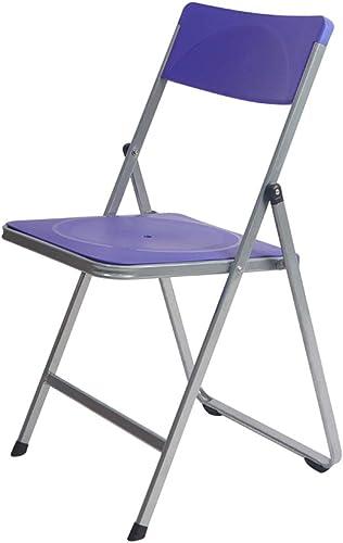 ShJttt-chair or stool Tabouret Simple de Bureau de Loisirs de réunion portative de Dossier Se Pliant épaissi de Maison (45  45  83CM)
