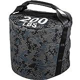 Hopopula 90KG Sandsäcke Fitness Sandsack Training Sandsäcke Fitness Taschen Nylon 1000D...