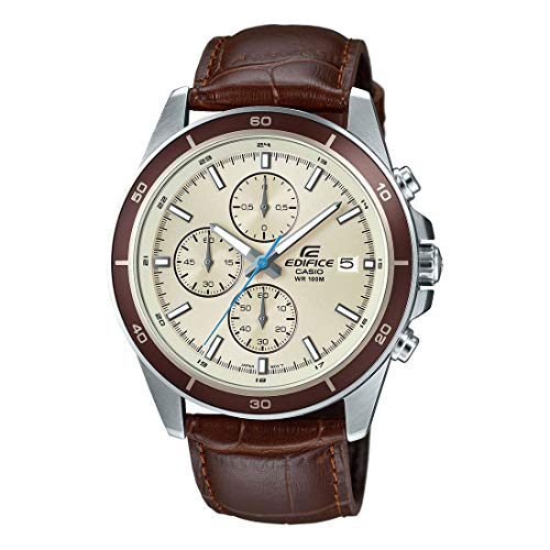 Casio Edifice Chronograph Beige Dial Men's Watch - EFR-526L-7BVUDF (EX303)