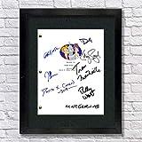 Futurama TV Cast Autogramm-Nachdruck 8,5 x 11 Schrift Matt