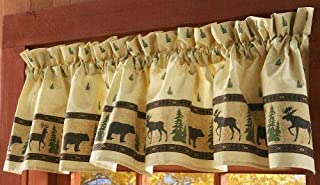 Woodland Silhouette Curtain Valance