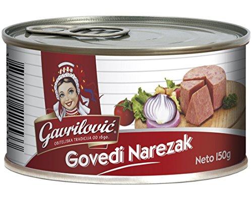 Gavrilovic Rinderaufschnitt, 3er Pack (3 x 150 g)