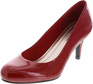 29bec9899a1 Comfort Plus by Predictions Karmen Women s Pumps - Comfy   Trendy 3 Inch  Heels with Round
