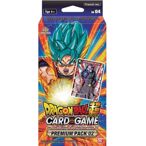 Dragon Ball Super Card Game Premium Pack 02 GE04 Anniversary – Französisch