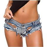 FELZ Pantalones Vaqueros Mujer Rotos Moda Mujeres Sexy Mini Pantalones Talle Bajo Chicas Damas Shorts De Mezclilla Denim Pantalon De Playa Fiesta Ropa De Mujer En Oferta Pantalones Vaqueros