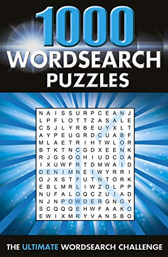 1000 Wordsearch Puzzles: The Ultimate Wordsearch Collection