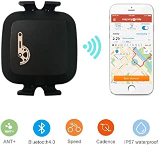 comprar comparacion TAOPE Sensor de Cadencia Inalámbrico Bluetooth & ANT+ con doble modo de velocidad y sensor de cadencia