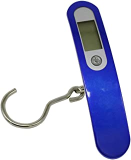 CCJW Baggage Scale Portable Baggage Scale Accurate Weighing Three Colors Optional Maximum Weighing 50kg (Color : Blue)