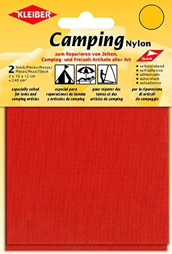 Kleiber + Co.GmbH Camping-Nylon, orange, 2X 10 cm x 12 cm