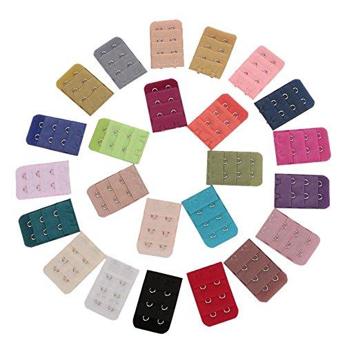 TININNA Damen Frauen BH Erweiterung Extender BH Verlängerung mit 2-Haken BH-Verlängerer 50 Stück EINWEG Verpackung
