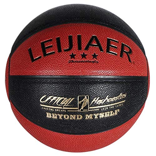 Sale!! LEIJIAER BKT 776X 5in1 No.7 Soft Moisture PU Leather Basketball Game,