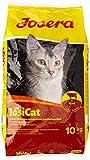 JosiCat Tasty Beef, Premium Trockenfutter für ausgewachsene Katzen, Katzenfutter, powered by JOSERA, 1er Pack (1 x 10 kg)
