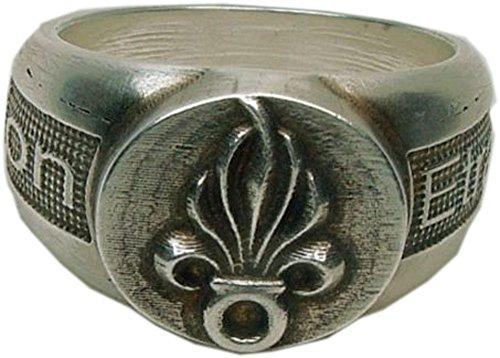 MK-art Ring Legionärsring französische Fremdenlegion Legion Etrangere Mit Innengravur Legio Patria Nostra