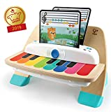 Baby Einstein Hape Magic Touch Piano, juguete musical de madera,...