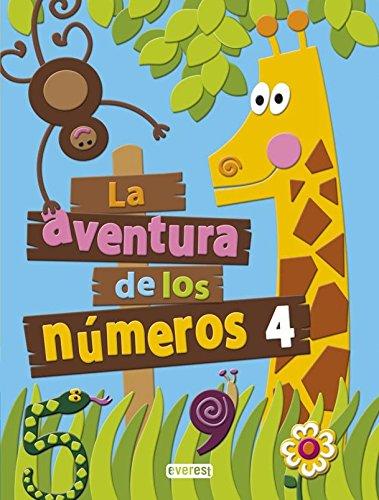 La aventura de los números 4 - 9788444176765