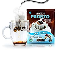 FUERTE Pronto Organic Drip Coffee Bag House Blend Americano 11.52 Ounce (Pack of 36) [並行輸入品]