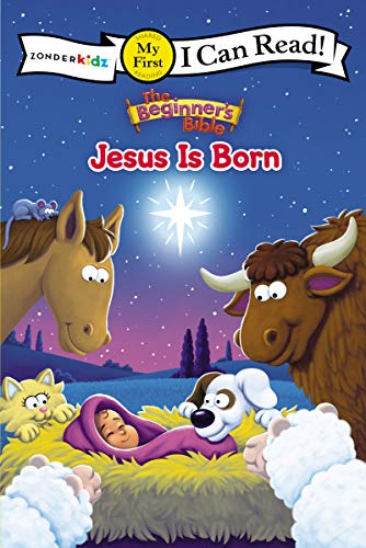 The Beginner's Bible Jesus Is Born: My First (I Can Read! / The Beginner's Bible)