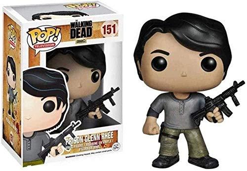 YUMENG The Walking Dead Figura-Prision Glenn Figura Pop Forma TV Coleccion 10CM
