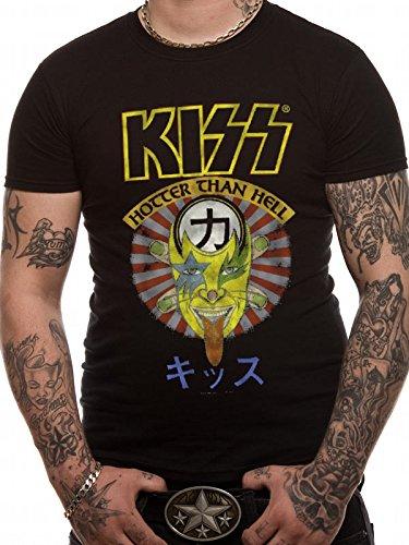 T-Shirt (Unisex-M) Hotter Than Hell Japan (Black)