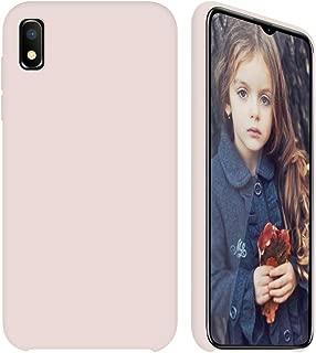 GKK Case for Samsung Galaxy A10E, Slim Fit Design, Upgraded Liquid Silicone Cover for Samsung A10E (Pink)