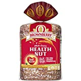 Brownberry Whole Grains Health Nut Bread, Taste the Real Nuts and Seeds, 24 oz