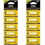 Pila alcalina de alto voltaje DNA 23A 12V (paquete de 10)