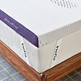 <span class='highlight'>Inofia</span> Sleep <span class='highlight'>Gel</span> <span class='highlight'>Memory</span> <span class='highlight'>Foam</span> <span class='highlight'>Mattress</span> Topper <span class='highlight'>Double</span>, 8CM <span class='highlight'>GEL</span>EX Bed Topper with Washable Cover, Pressure Relief   Sleep Cooler, 2 Layer <span class='highlight'>foam</span> topper for Rest Easy, 100-Night Home Trail (135x190)