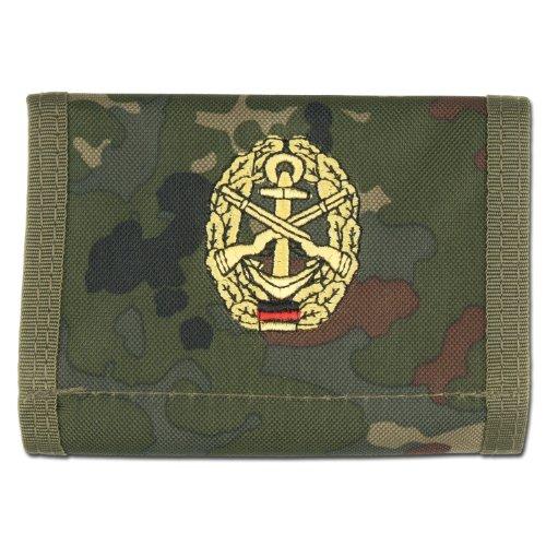 Portemonnaie Marinesicherung flecktarn