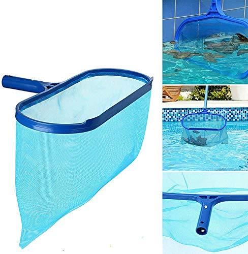 Soul hill Pool Skimmer Net Tief Pool Reinigung Nets Kopf Weit for Spas, Teiche, Brunnen (ohne Mast) zcaqtajro
