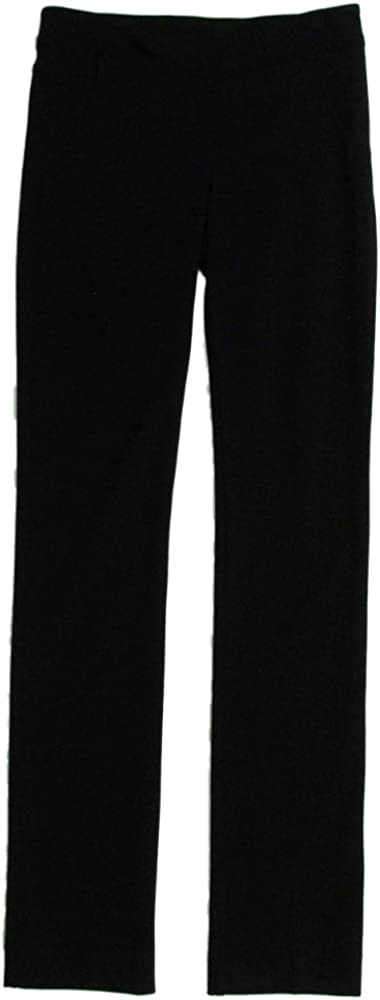 Three Dots Women's Straight Leg Dress Pants 8 Black